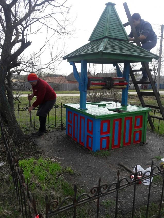 Альбом: Суботник на території села Московка.