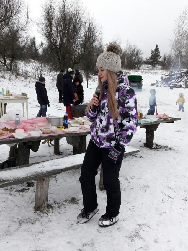 """Альбом: Московчани святкують """"Водохрещю"""""""